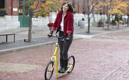 Push foot and kick bikes and scooters about sidewalker usa for Motorized scooters for adults